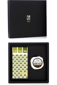Gastronomic Box n.11 - Cow Chesse +  Pack 3 Green Olive Oils -