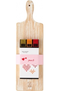 Fish Board and Pack 3 artisanalalal Jams  - Ideal for cheese + Cow Cheese + Goat chesse
