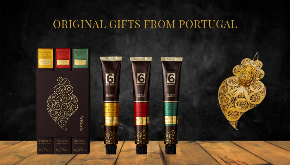 best gifts from portugal pack3 dark chocolates spreads