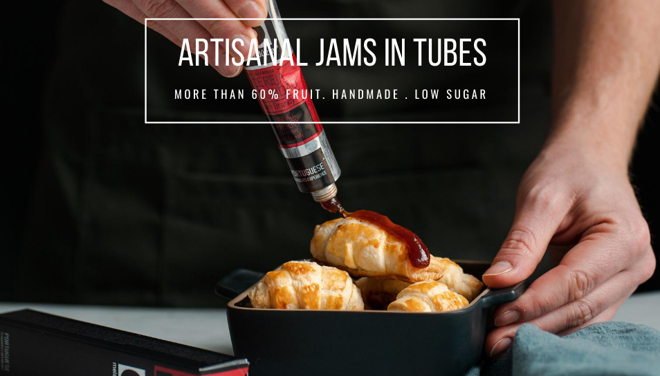 artsianal jams in tubes low sujar and natural - made in portugal 3