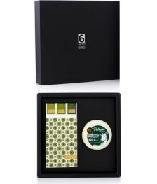 Gastronomic Box N.10 - Goat Chesse +  Pack 3 Green Olive Oils
