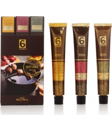 Pack3 Cremes de chocolate Negro - Ideal para fondue de carne