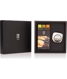 GASTRONOMIC BOX N.4-Cow Cheese + Pack 3 Artisanal Jams Ideal For Cheeses